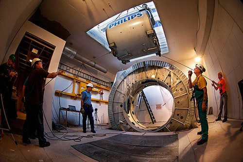 mr linac installation LM