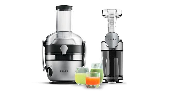 Slow Juicer Vs Centrifuge : Hvorfor er det sundt at presse juice? I Philips