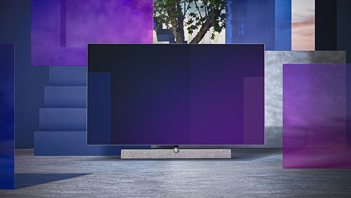 Philips OLED+ 935 TV-design