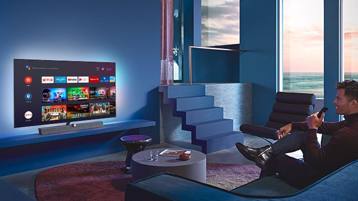 Philips OLED + 935 TV Smart-funktioner