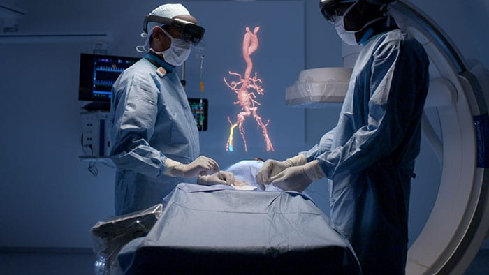 Philips' unique augmented reality concept for image-guided minimally invasive therapies developed with Microsoft