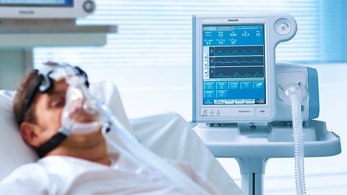 Philips details plans to increase its hospital ventilator production to 4,000 units/week by Q3 2020, and introduces its new Philips Respironics E30 ventilator with an immediate production of 15,000 units/week